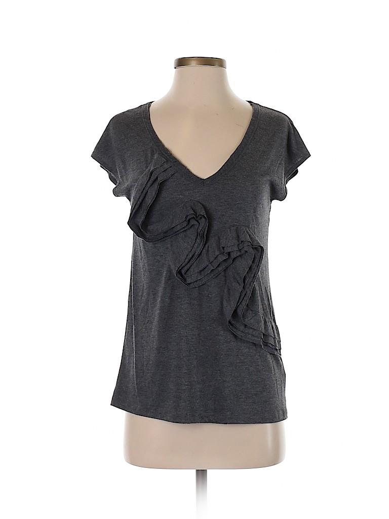 Gibson Women Short Sleeve Blouse Size S