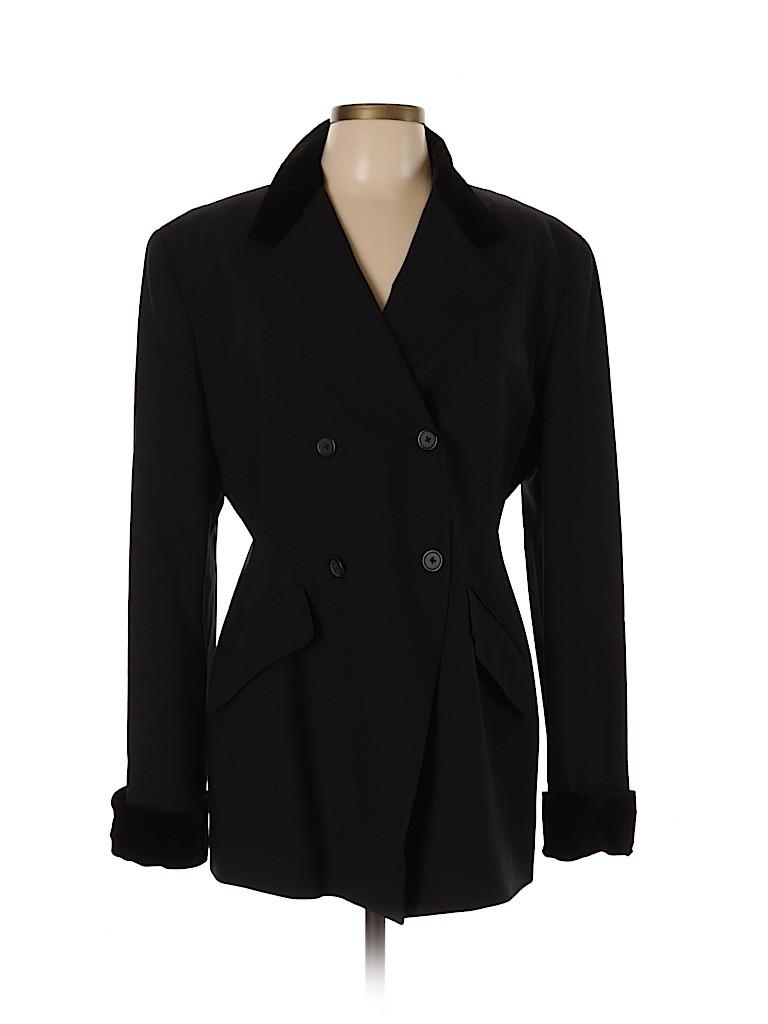 DKNY Women Wool Coat Size 14
