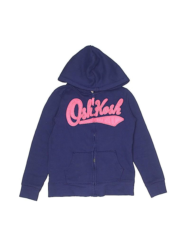 OshKosh B'gosh Girls Zip Up Hoodie Size 7