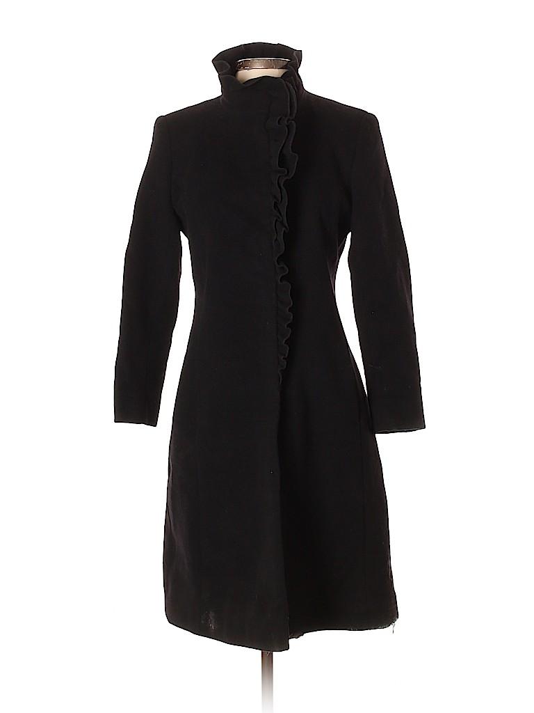 DKNY Women Wool Coat Size 2
