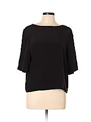 Amour Vert Short Sleeve Silk Top