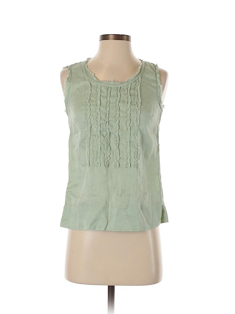 Andrea Jovine Women Sleeveless Blouse Size XS