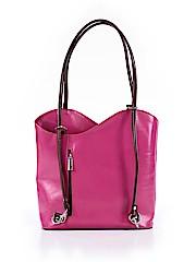 Vera Pelle Leather Shoulder Bag