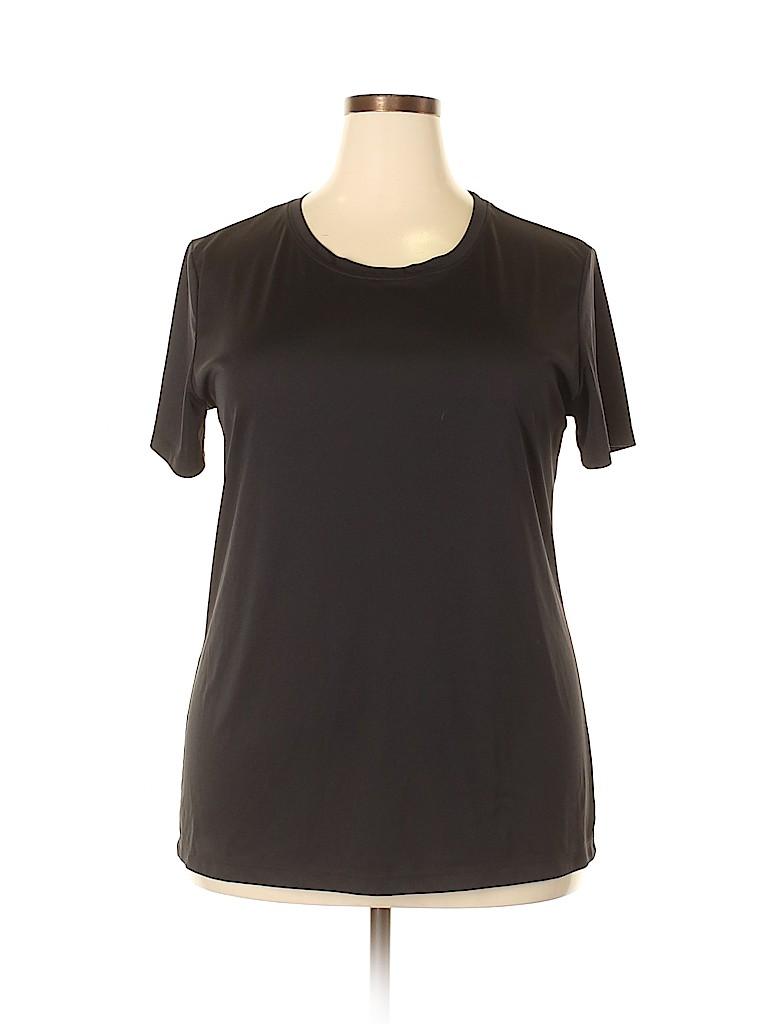Alo Women Active T-Shirt Size 2X (Plus)