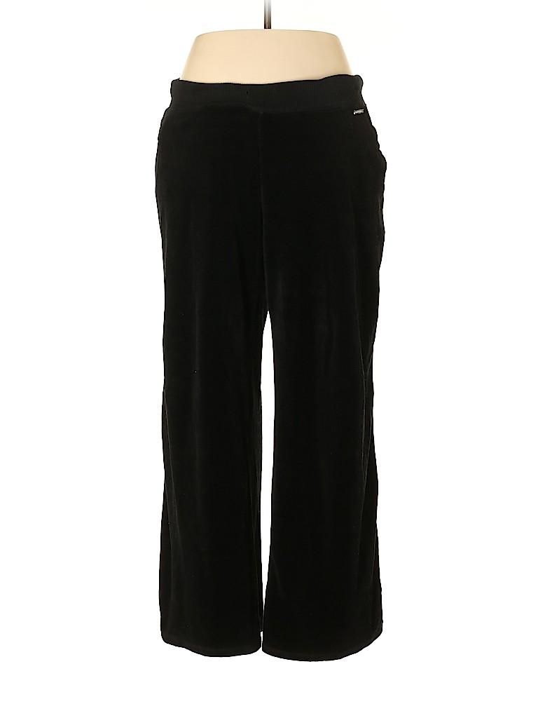 MICHAEL Michael Kors Women Velour Pants Size XL