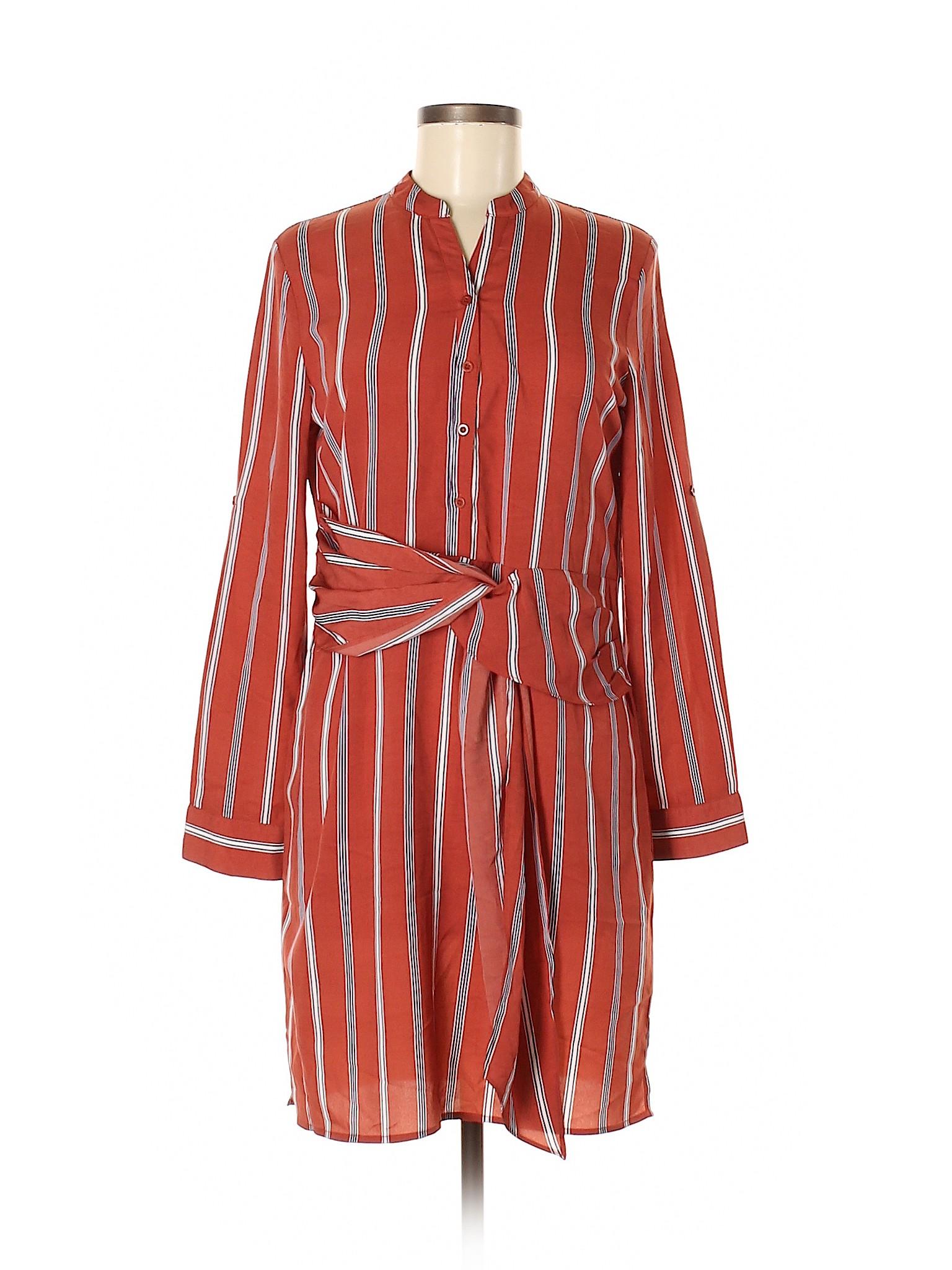 8c9ce24838d Gianni Bini Women Red Casual Dress Sm