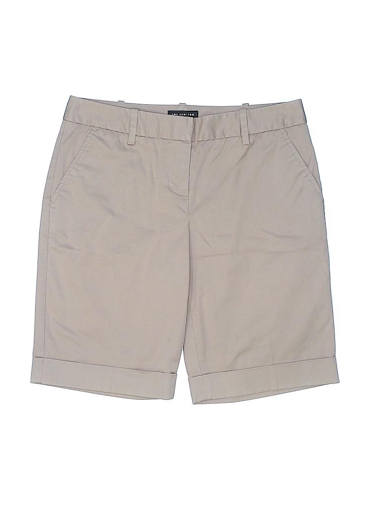 The Limited Women Khaki Shorts Size 2