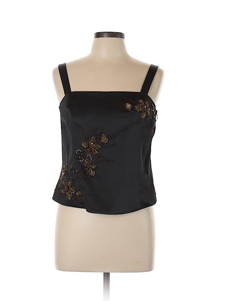 Sandra Darren Women Sleeveless Top Size 14