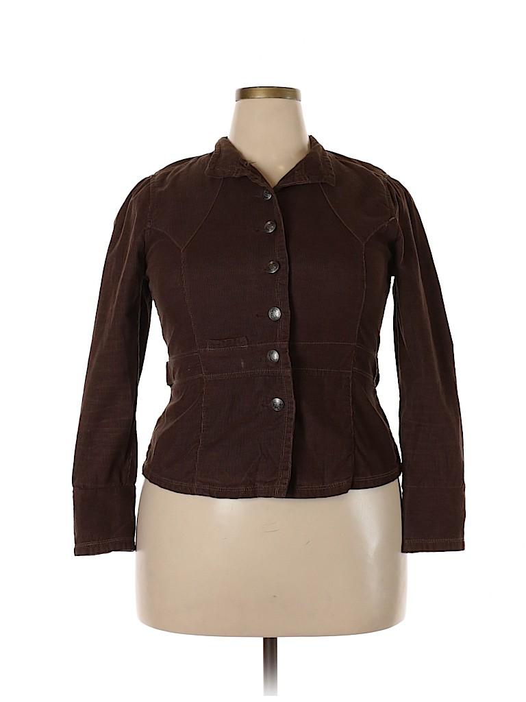French Cuff Women Blazer Size L