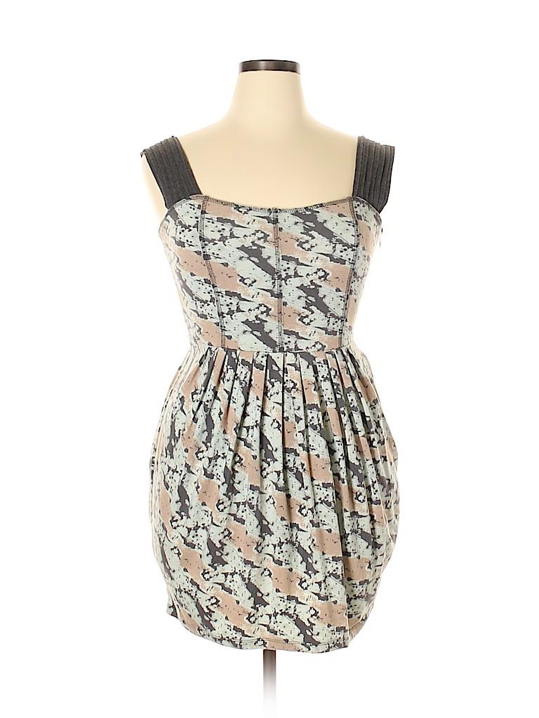 Uniqlo Women Casual Dress Size 1X (Plus)