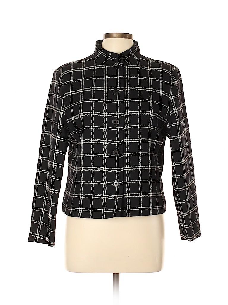Petite Sophisticate Women Wool Blazer Size 12