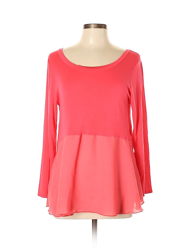 Newbury Kustom Women 3/4 Sleeve Top Size L