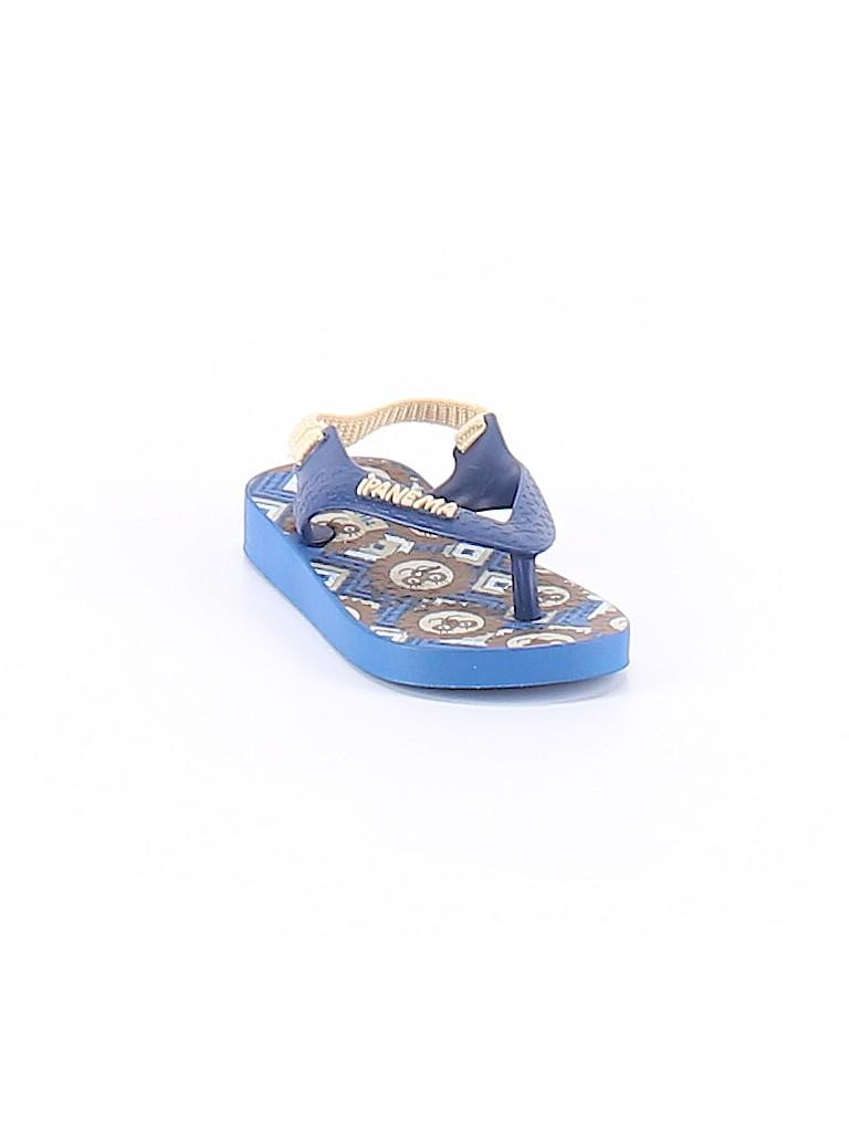 623761f9c Ipanema Print Blue Sandals Size 5 - 61% off