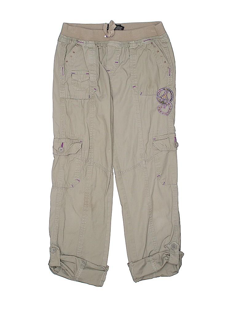 64e8f7b352 Z.Cavaricci 100% Cotton Solid Tan Cargo Pants Size 10 - 12 - 74% off ...