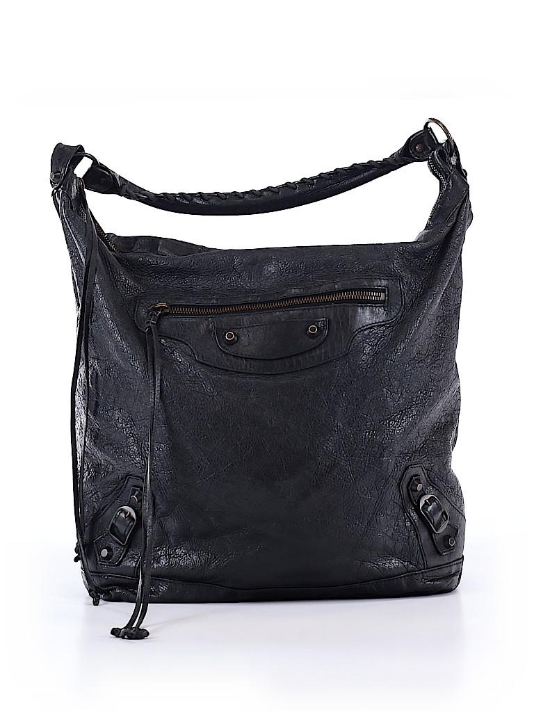 Balenciaga Women Leather Shoulder Bag One Size