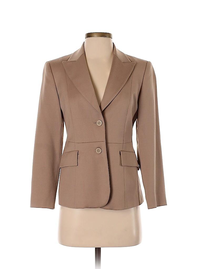 Made In Italy Of Benetton Women Wool Blazer Size 40 (IT)