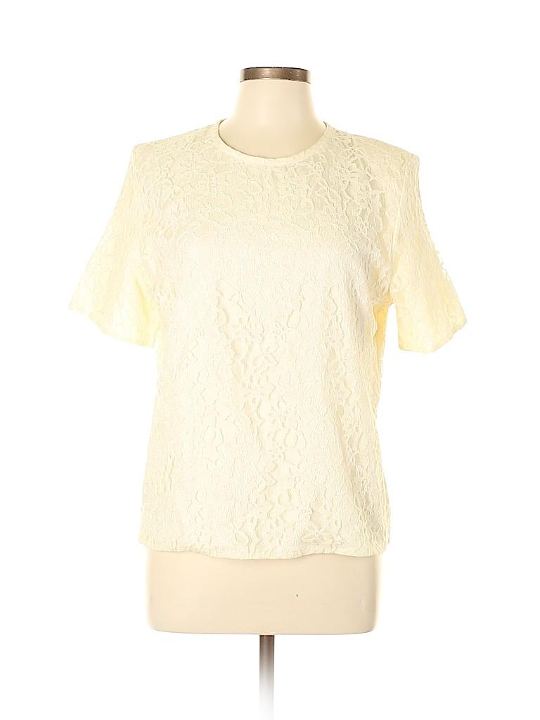 San Andre Women Short Sleeve Blouse Size 14