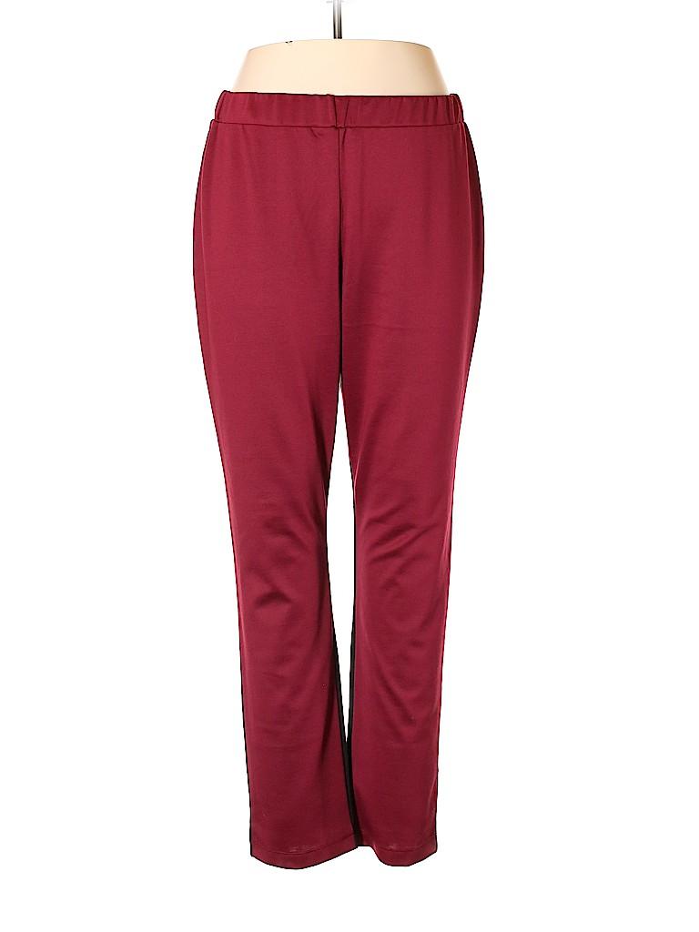 Slinky Brand Women Casual Pants Size 1X (Plus)