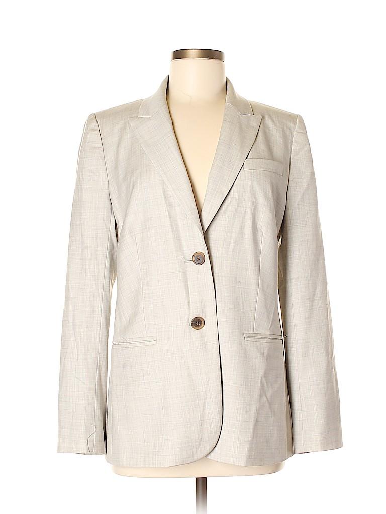 Lane Bryant Women Wool Blazer Size 8