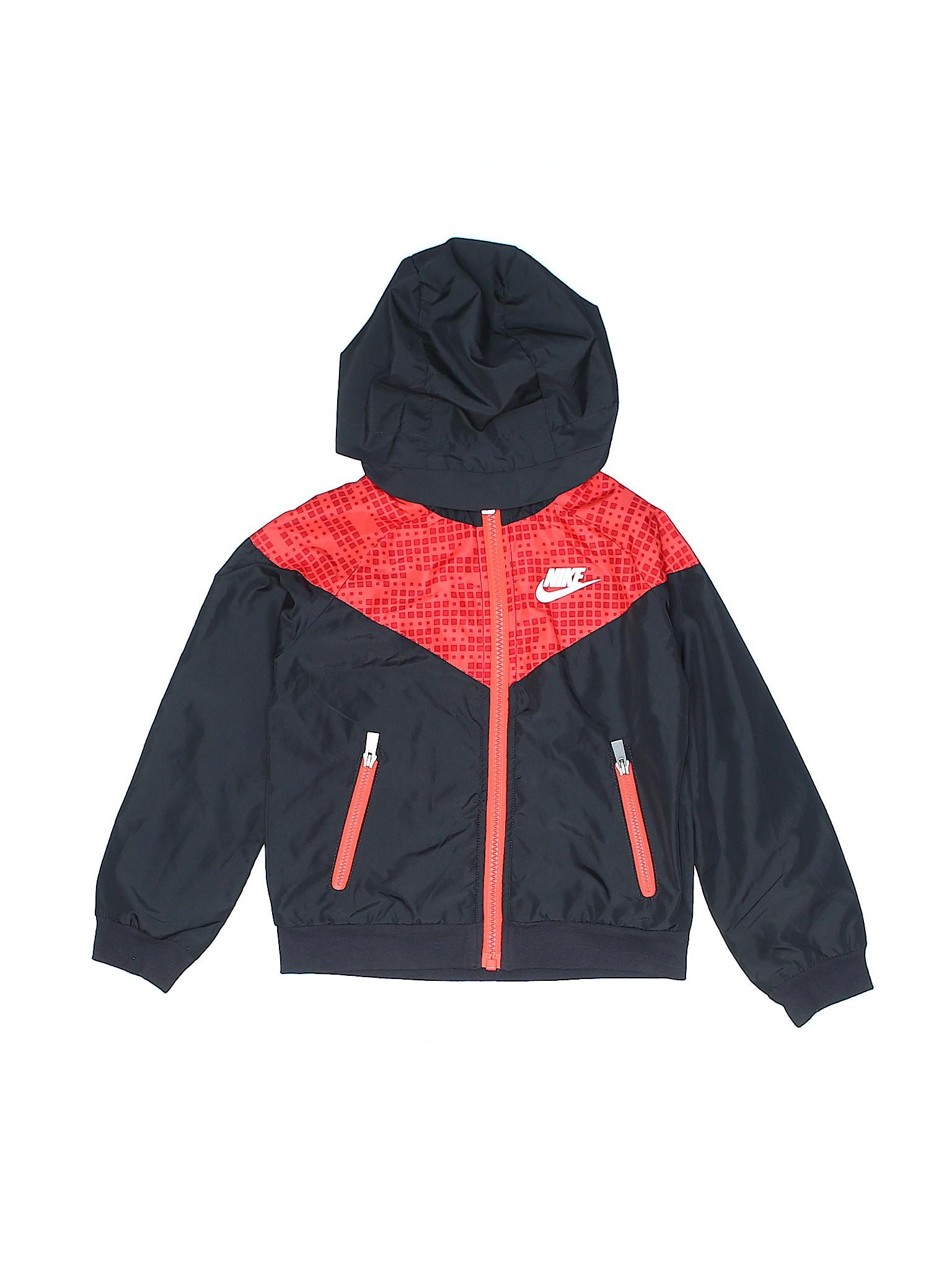 Nike 100% Polyester Gray Windbreaker Size 4T - 67% off  47f343214