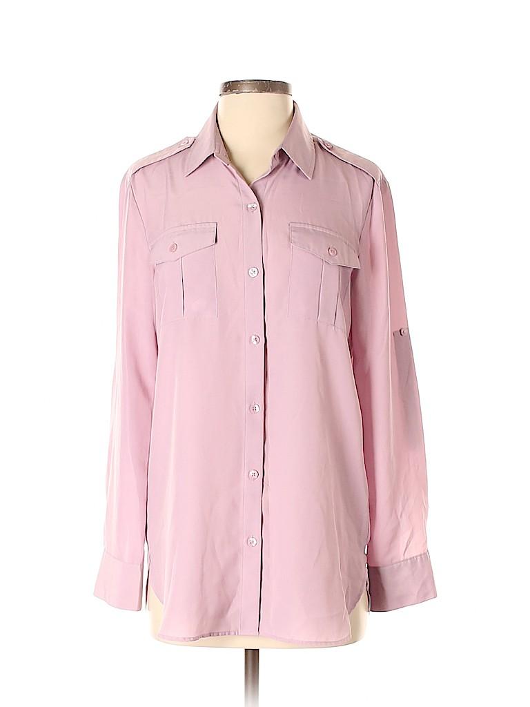 DKNY Women Long Sleeve Blouse Size S