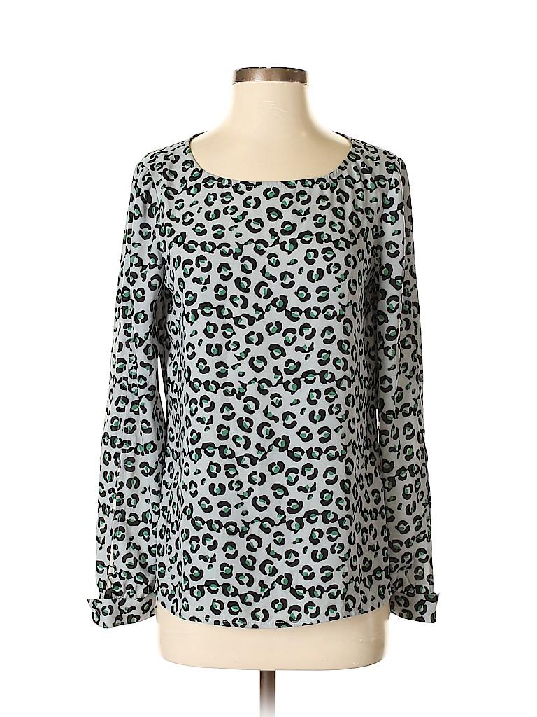 Cooper & Ella Women Long Sleeve Blouse Size M