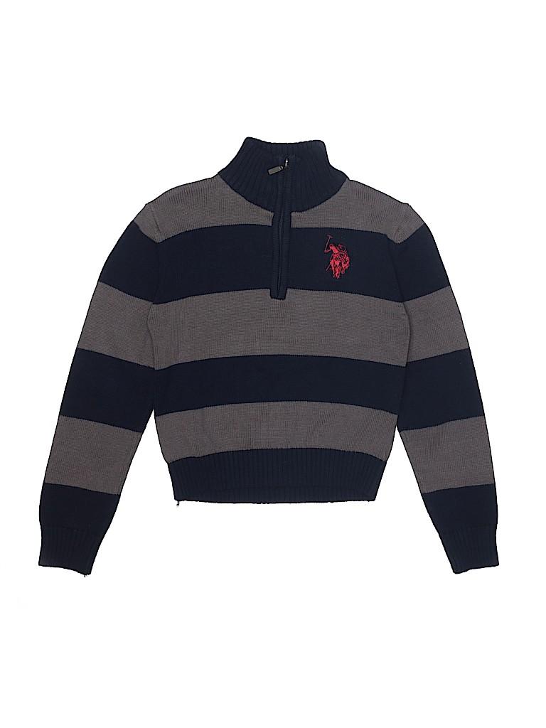 U.S. Polo Assn. Boys Pullover Sweater Size 8