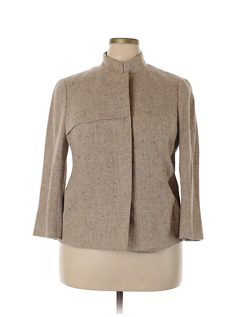 AKRIS Women Wool Blazer Size 16