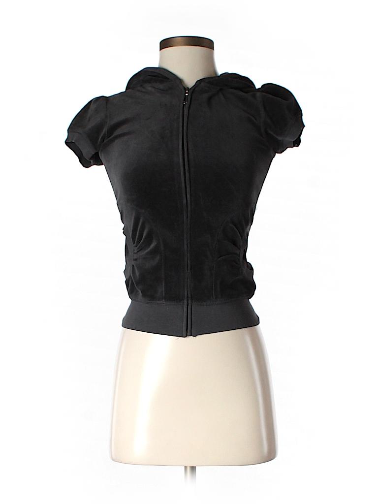 Juicy Couture Women Zip Up Hoodie Size P