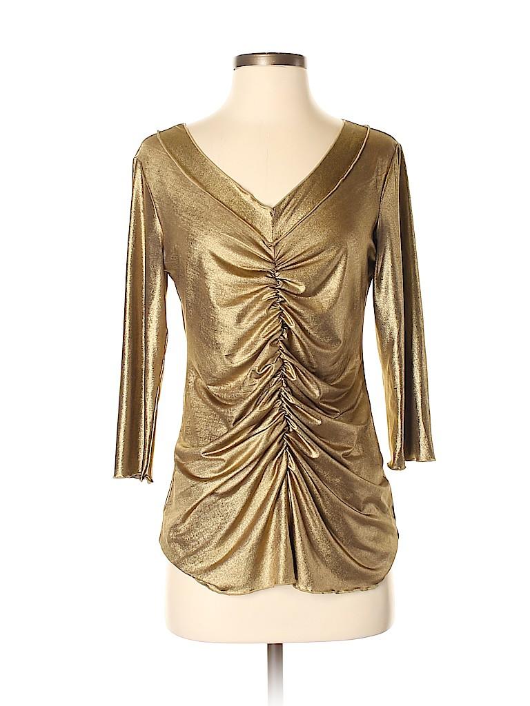 Essentials Women 3/4 Sleeve Top Size S