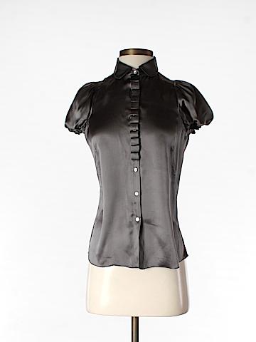 Studio M Short Sleeve Silk Top Size XS