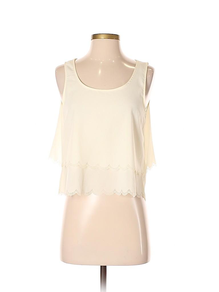 TOBI Women Sleeveless Blouse Size S