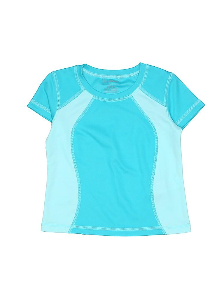 L.L.Bean Girls Active T-Shirt Size 5 - 6