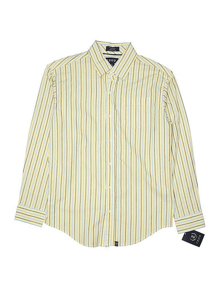 IZOD Boys Long Sleeve Button-Down Shirt Size 14 - 16