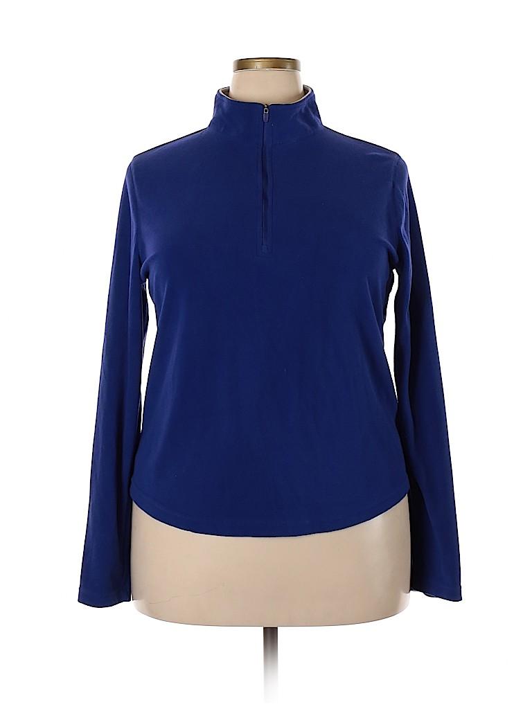 Danskin Now Women Track Jacket Size XL