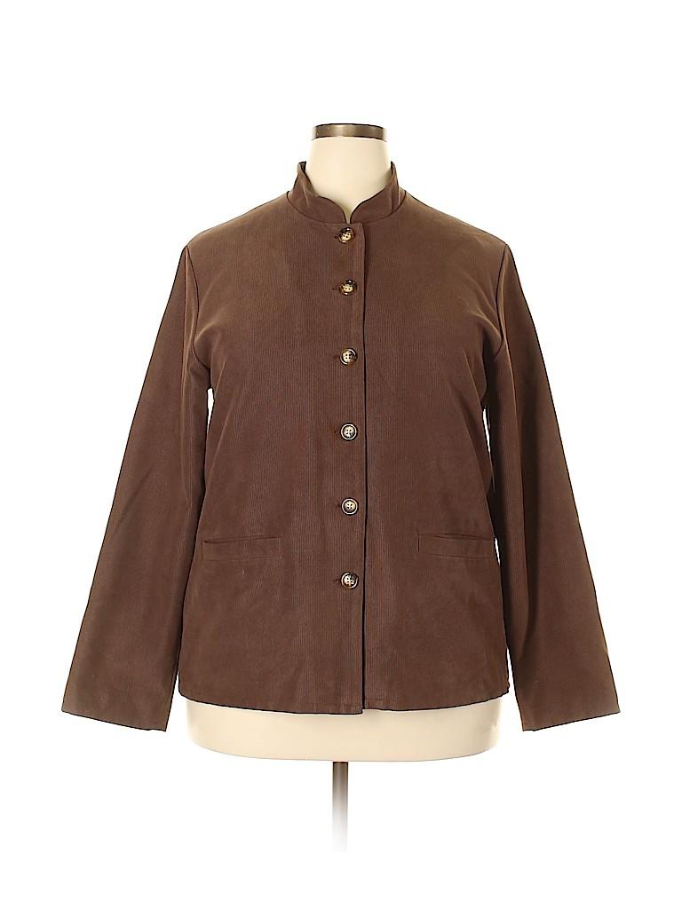 Orvis Women Jacket Size 18 (Plus)