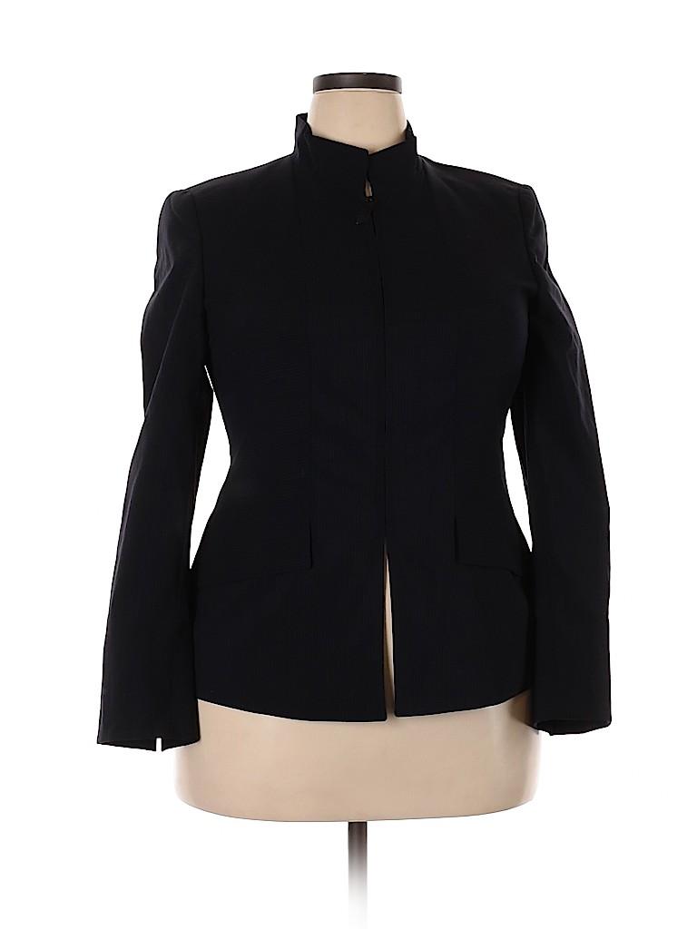 AKRIS Women Wool Blazer Size 14