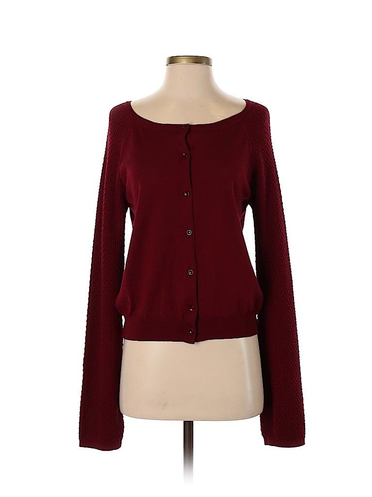 Piazza Sempione Women Wool Cardigan Size 46 (IT)