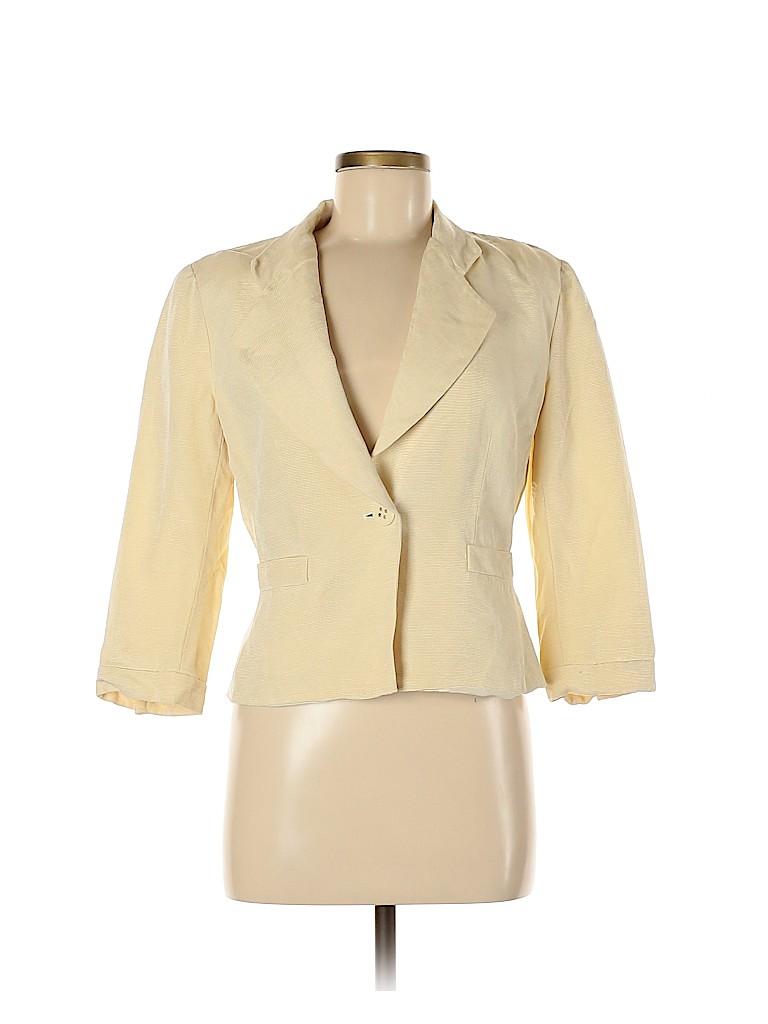Armani Collezioni Women Wool Blazer Size 8