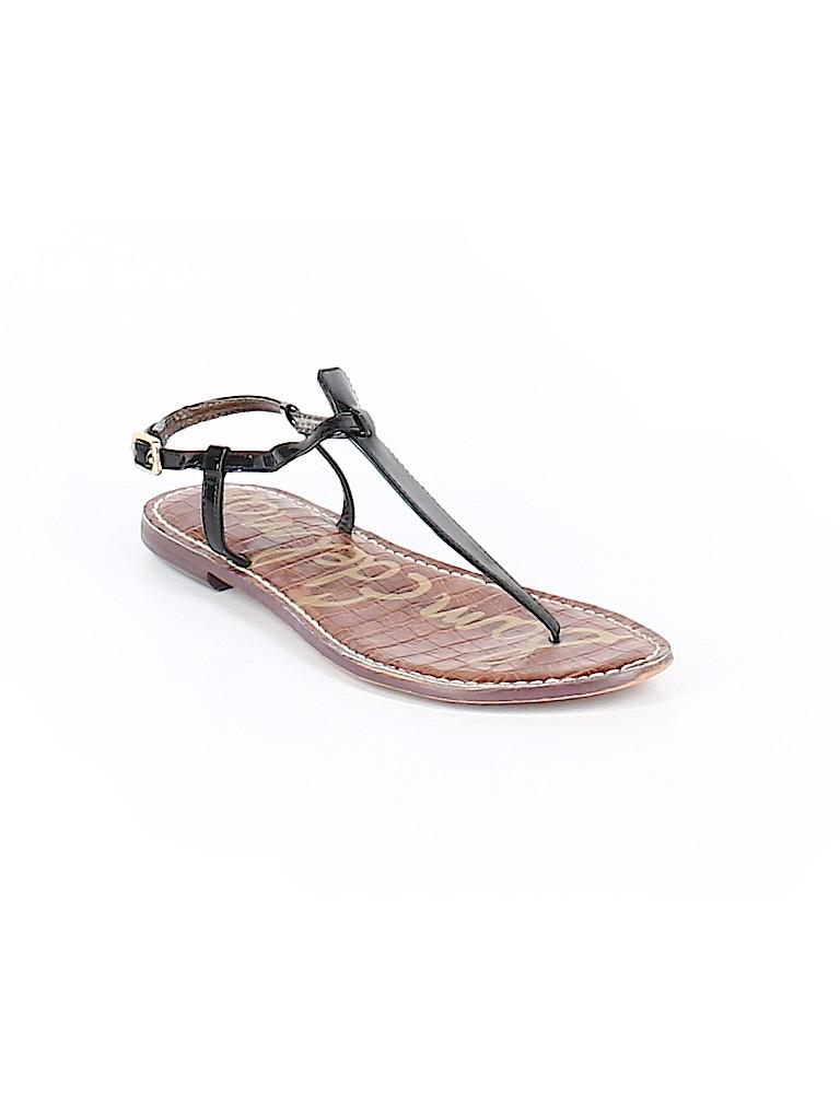 37246ebaf4e29a Sam Edelman Solid Black Sandals Size 9 1 2 - 63% off