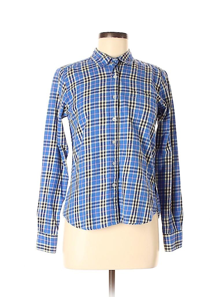 Steven Alan Women Long Sleeve Button-Down Shirt Size M