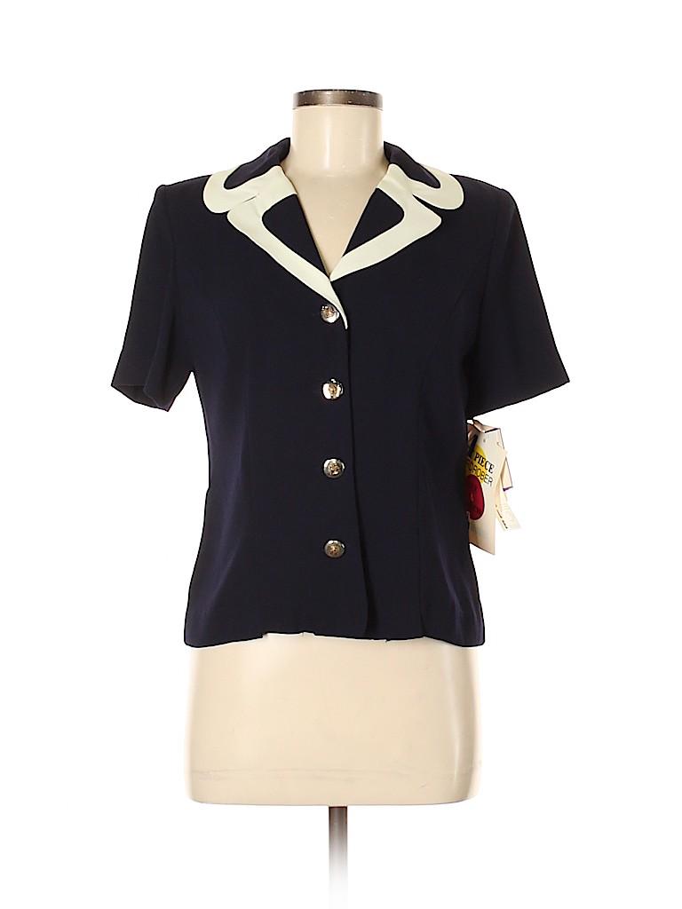 Leslie Fay Women Blazer Size 6 (Petite)