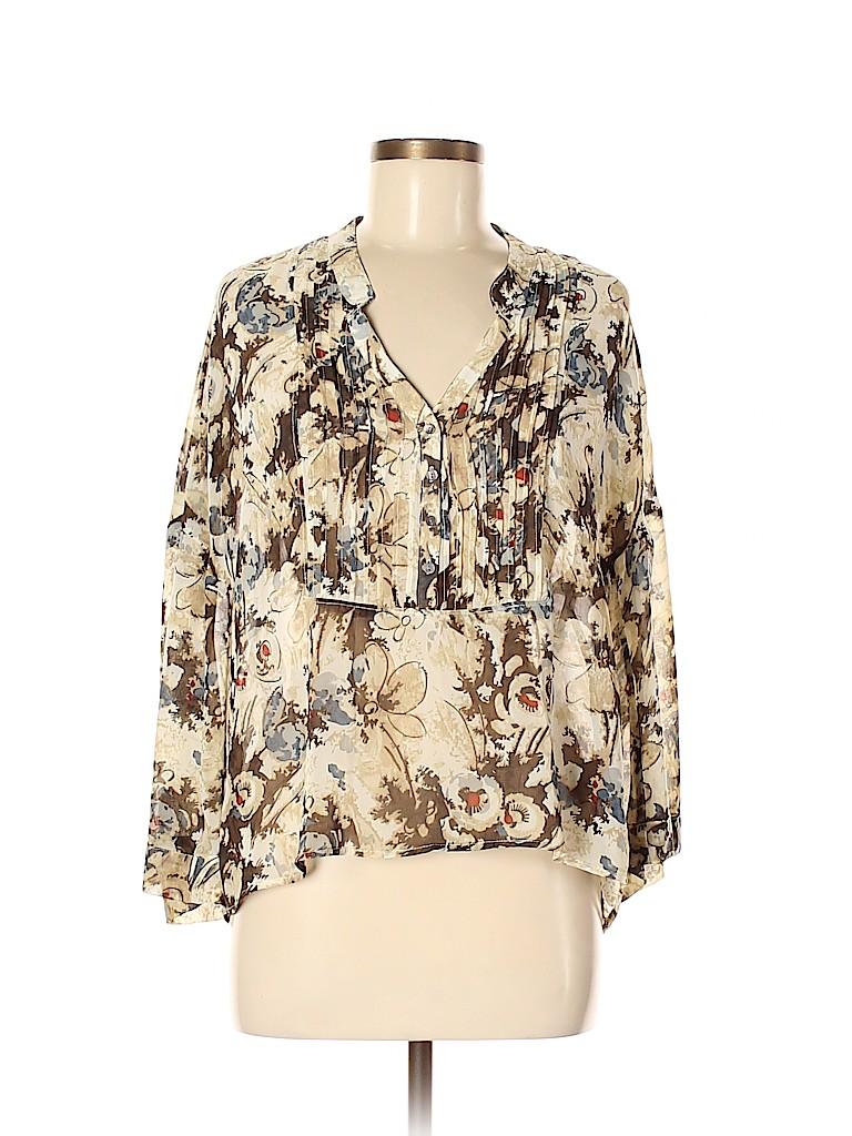 Patterson J. Kincaid Women Long Sleeve Blouse Size M