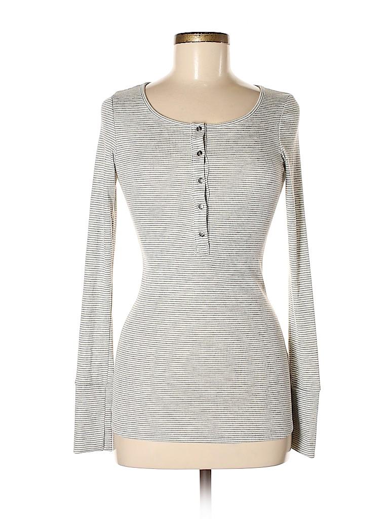 BP. Women Long Sleeve Henley Size M