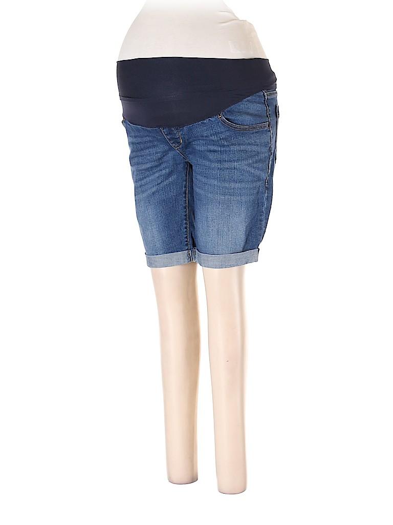 Old Navy - Maternity Women Denim Shorts Size 10 (Maternity)