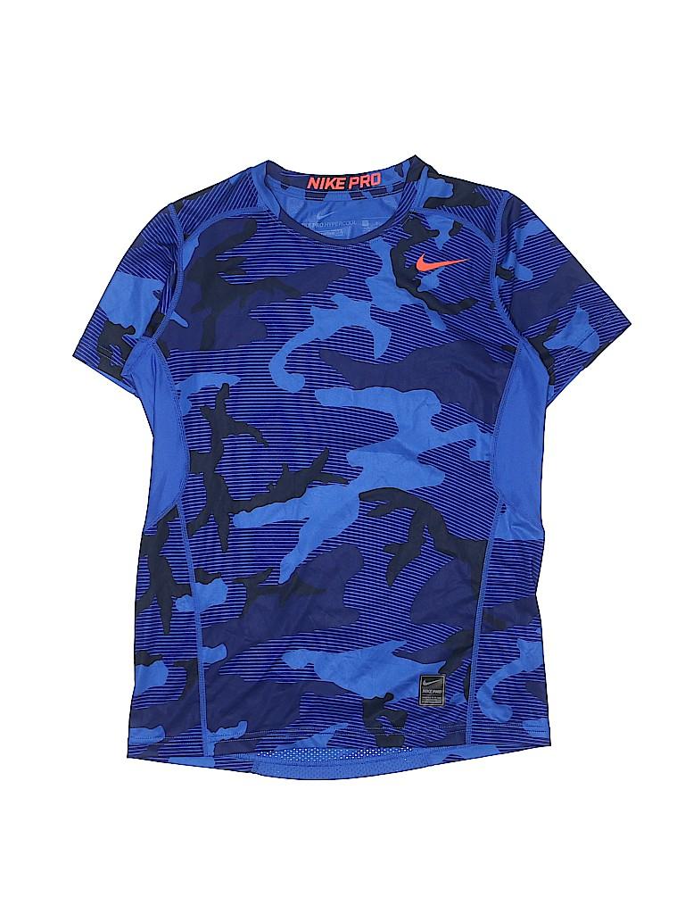 d36d43a7e Nike Camo Blue Active T-Shirt Size L (Youth) - 60% off | thredUP