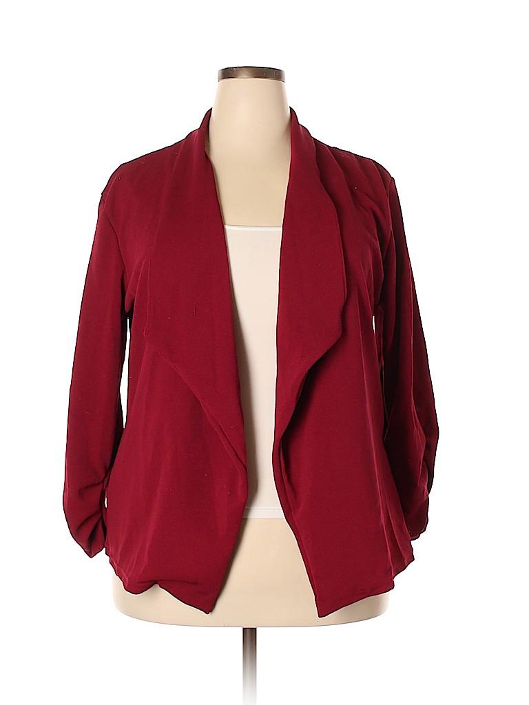 Doublju Women Cardigan Size 3X (Plus)