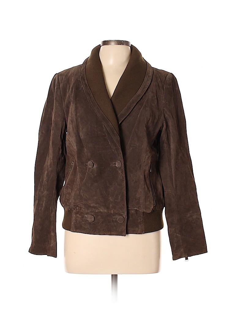 RLZ Women Leather Jacket Size 12