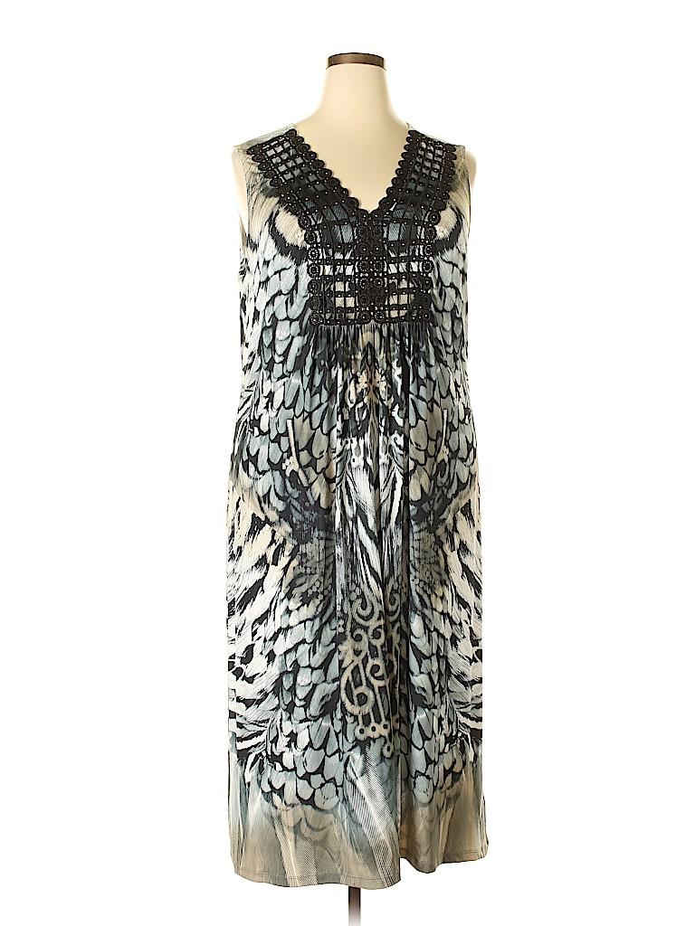 Apt. 9 Women Casual Dress Size 2X (Plus)
