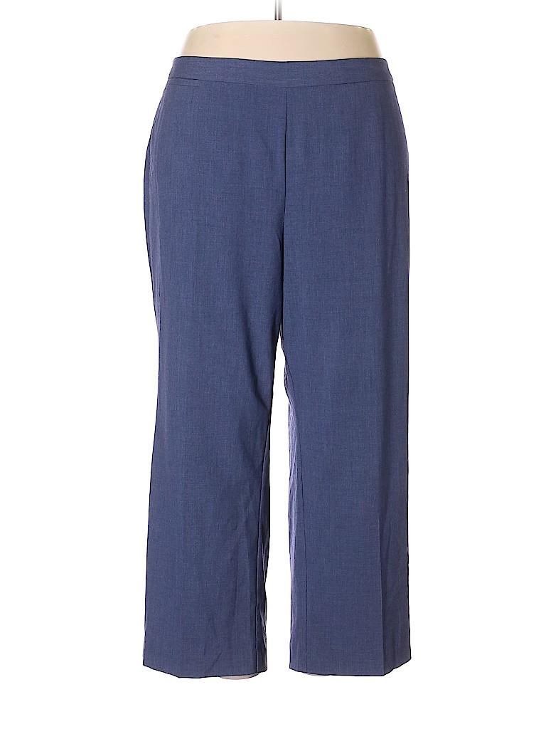 Catherines Women Dress Pants Size 2X (Plus)